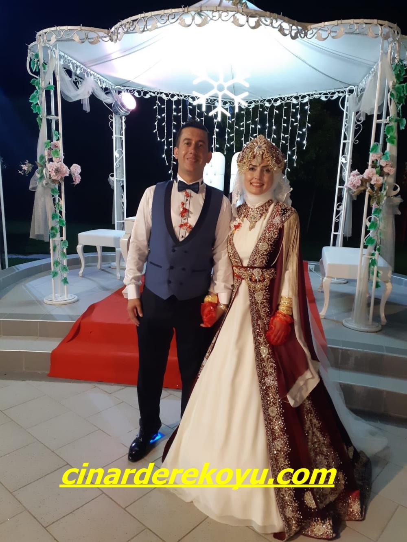 Düğün için sıcak ve nazik dileklerimle